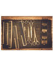 Hairdresser Vintage Tools 17x11 Poster front