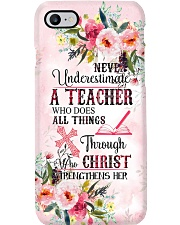 Never Underestimate A Teacher Phone Case i-phone-7-case