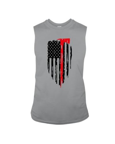 Firefighter Axe American Flag