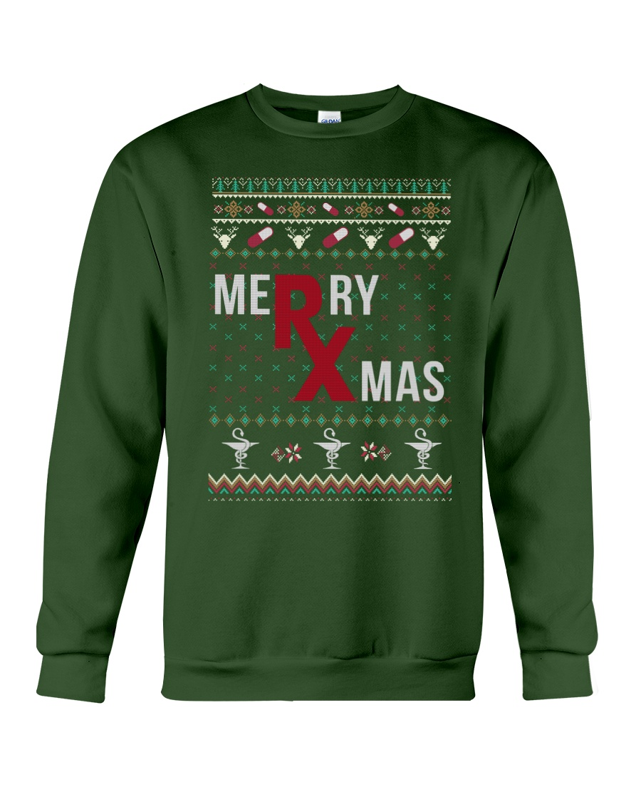 Pharmacist Merry Christmas  Crewneck Sweatshirt