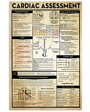 Cardiologist Cardiac Assessment 11x17 Poster front
