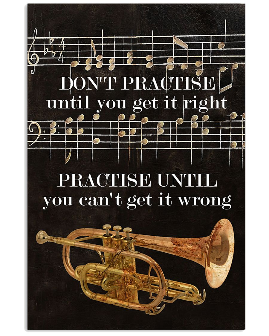 Trumpet You can't get it wrong 11x17 Poster