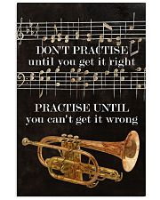 Trumpet You can't get it wrong 11x17 Poster front