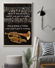 Trumpet You can't get it wrong 11x17 Poster lifestyle-poster-1