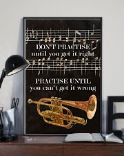 Trumpet You can't get it wrong 11x17 Poster lifestyle-poster-2