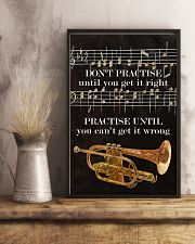 Trumpet You can't get it wrong 11x17 Poster lifestyle-poster-3