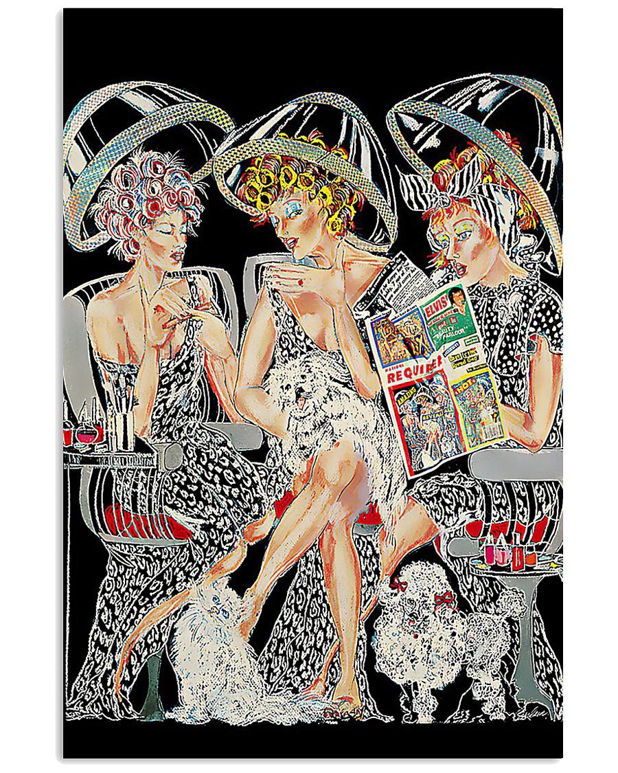 Hairdresser Women 11x17 Poster