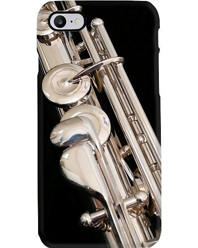 Flute Art Black Image