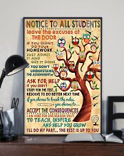 Notice To Students Teacher 11x17 Poster lifestyle-poster-2
