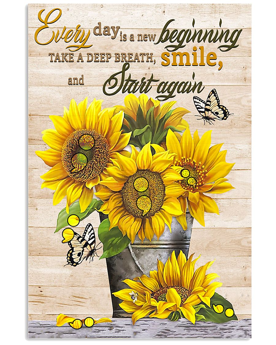 Start Again Suicide Prevention  11x17 Poster