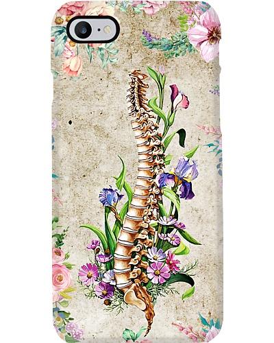 Chiropractor Floral Spine
