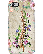 Chiropractor Floral Spine Phone Case i-phone-7-case
