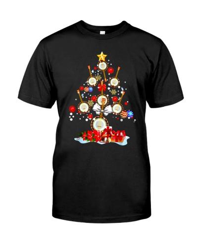 Christmas Tree Banjo Decoration Xmas Gift