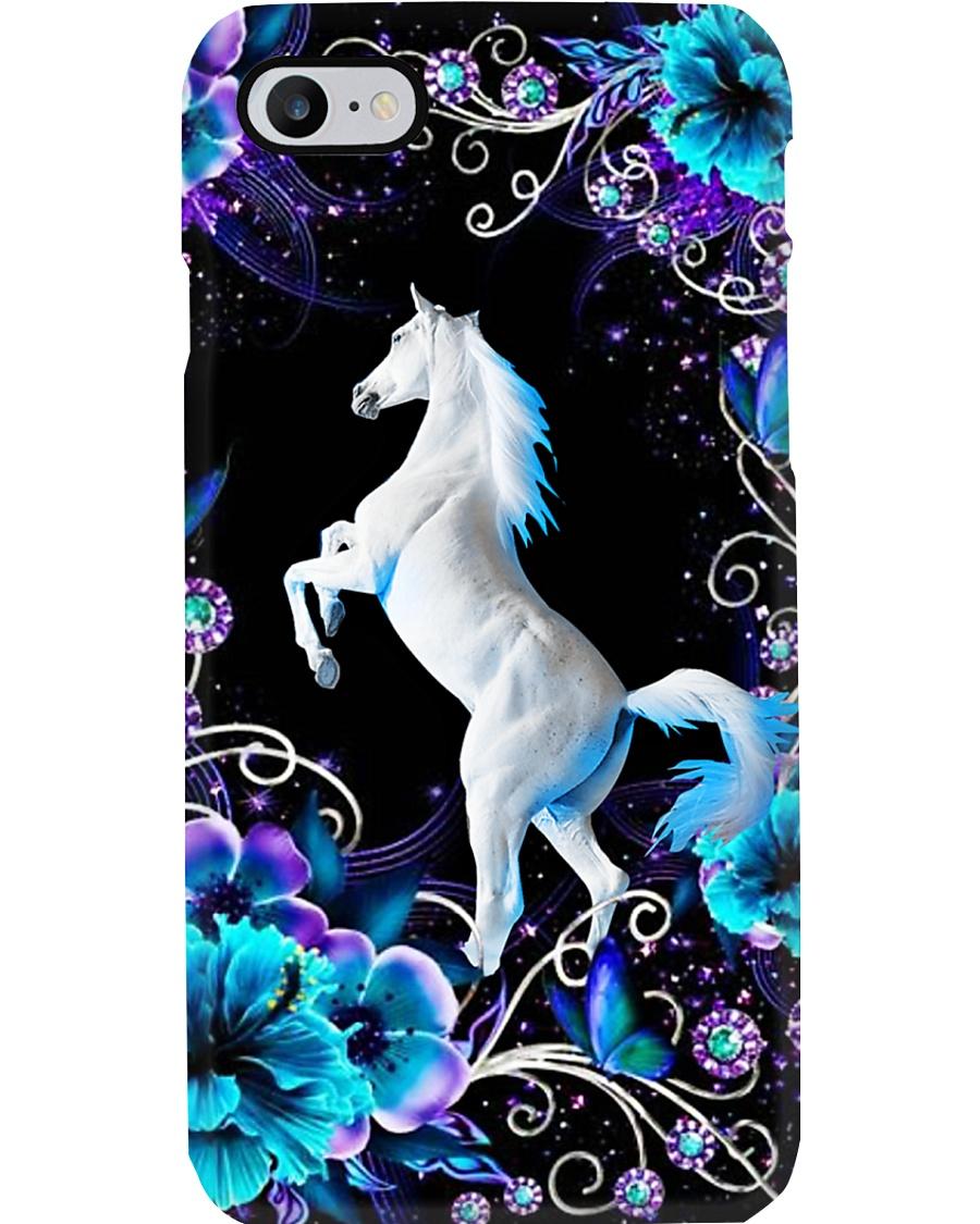 Horse Girl - White Horse Phone Case