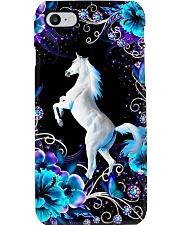 Horse Girl - White Horse Phone Case i-phone-7-case