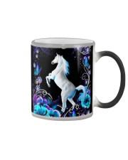 Horse Girl - White Horse Color Changing Mug thumbnail