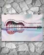 Guitar Music Gives A Soul To The Universe 17x11 Poster poster-landscape-17x11-lifestyle-13