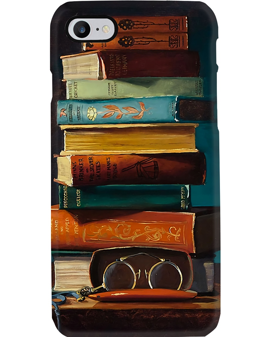 Librarian Glasses Phone Case