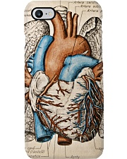 Human Heart Vintage Cardiologist Phone Case i-phone-7-case