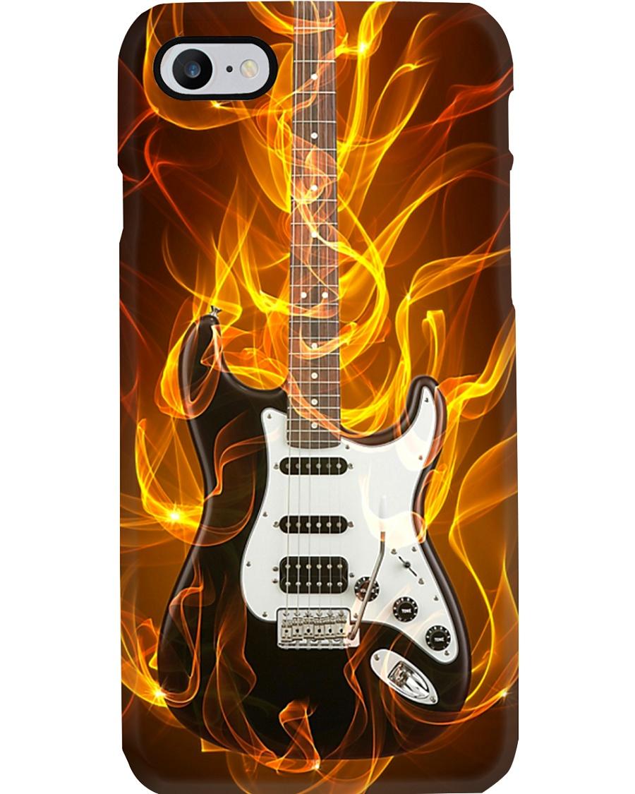 Flame Guitar  Phone Case
