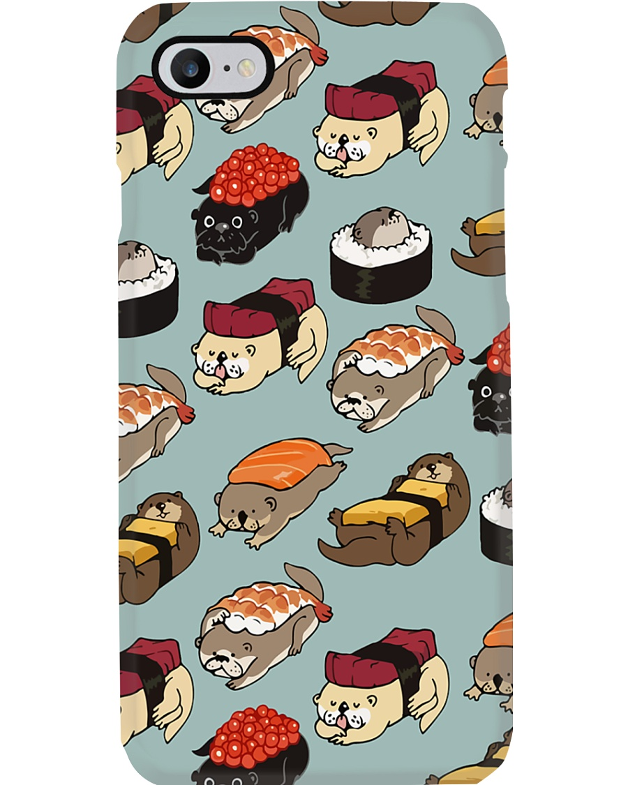 Otter Sushi Phone Case