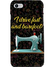 I Drive Fast And Barefoot Sewing Phone Case i-phone-7-case