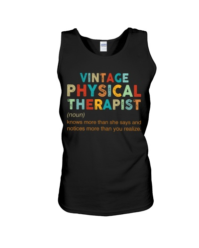 Vintage Physical Therapist