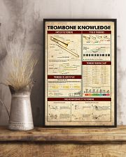 Trombonist Trombone Knowledge 11x17 Poster lifestyle-poster-3