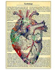 Cardiologist - Cardiology Knowledge 11x17 Poster front