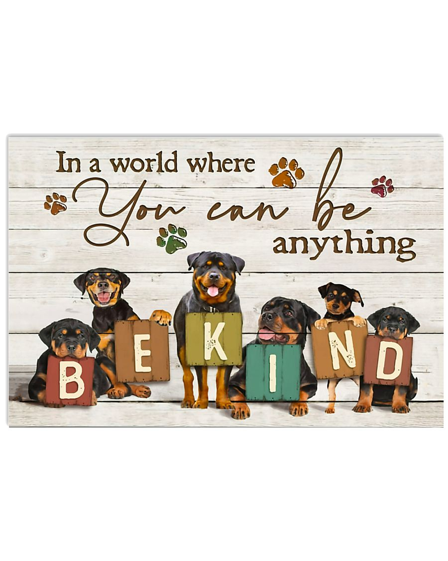 Veterinarian You Can Be Anything Be Kind 17x11 Poster