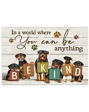Veterinarian You Can Be Anything Be Kind 17x11 Poster front