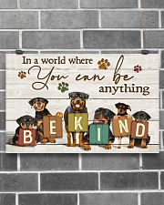 Veterinarian You Can Be Anything Be Kind 17x11 Poster poster-landscape-17x11-lifestyle-18
