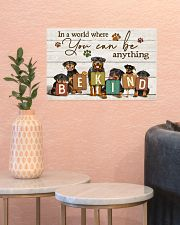 Veterinarian You Can Be Anything Be Kind 17x11 Poster poster-landscape-17x11-lifestyle-21