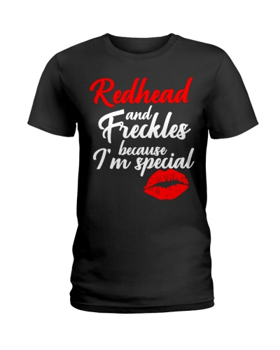 Redhead and freckles - I'm special