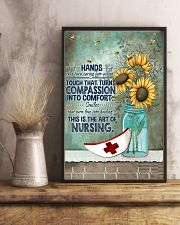Nurse This Is The Art Of Nursing Poster 11x17 Poster lifestyle-poster-3
