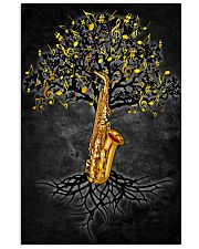Saxophone Tree 11x17 Poster front