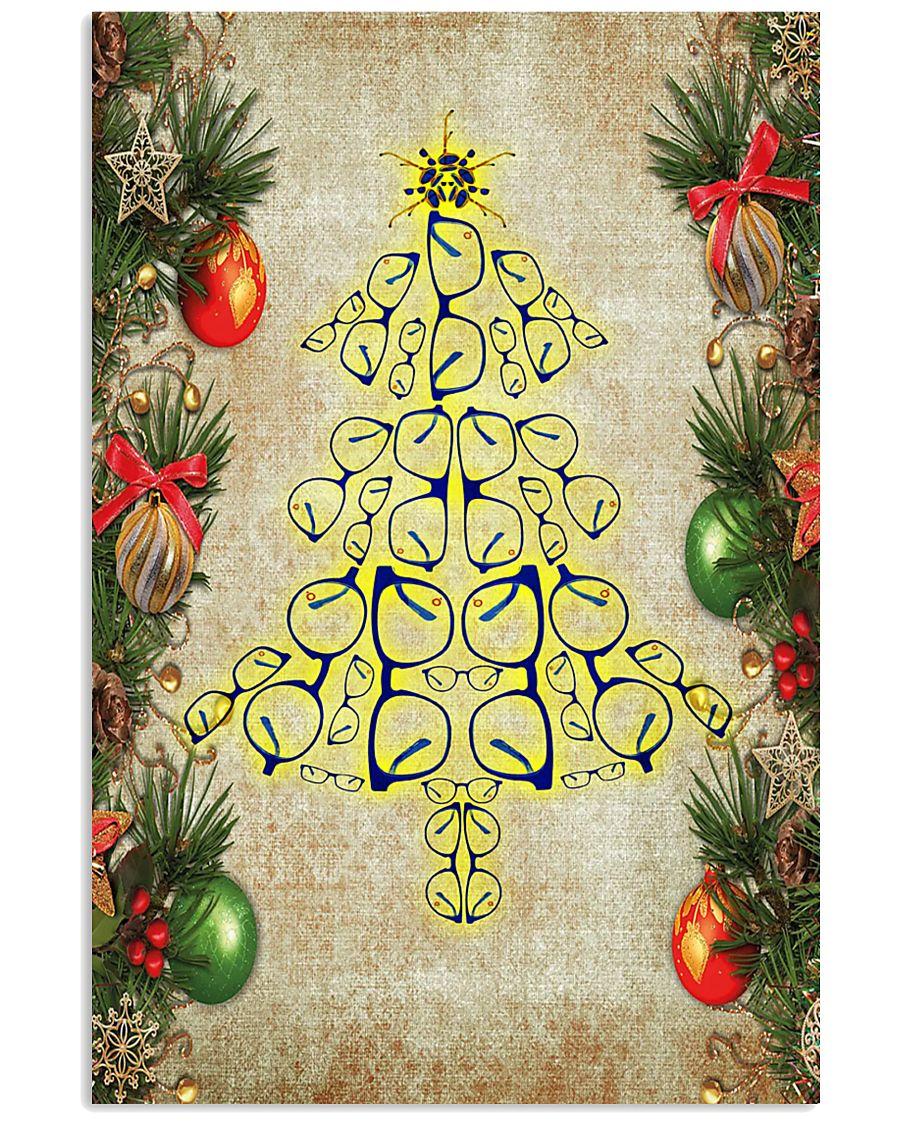 Optometrist Christmas Tree 11x17 Poster