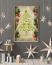 Optometrist Christmas Tree 11x17 Poster lifestyle-holiday-poster-1