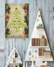 Optometrist Christmas Tree 11x17 Poster lifestyle-holiday-poster-2