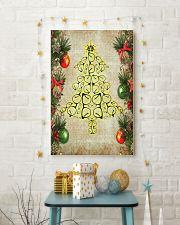 Optometrist Christmas Tree 11x17 Poster lifestyle-holiday-poster-3