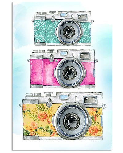 Colourful Camera Photographer