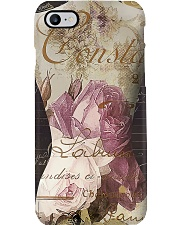 Sewing Flowery Mannequin Phone Case i-phone-7-case