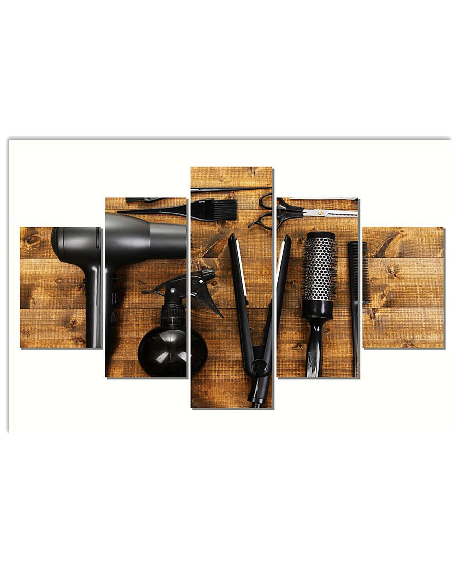 Hairdresser Wooden Tools 17x11 Poster