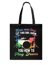 Drummer - Let this girl show you how to play drums Tote Bag thumbnail