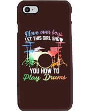 Drummer - Let this girl show you how to play drums Phone Case thumbnail