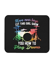 Drummer - Let this girl show you how to play drums Mousepad thumbnail