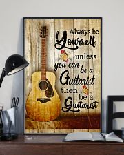 Be A Guitarist Guitar 11x17 Poster lifestyle-poster-2