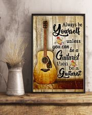 Be A Guitarist Guitar 11x17 Poster lifestyle-poster-3