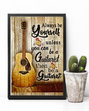 Be A Guitarist Guitar 11x17 Poster lifestyle-poster-8