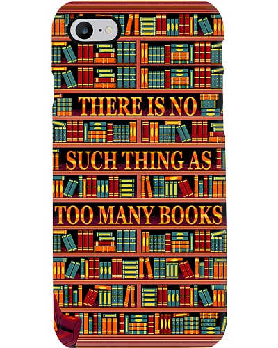 Librarian There is no such thing as too many books